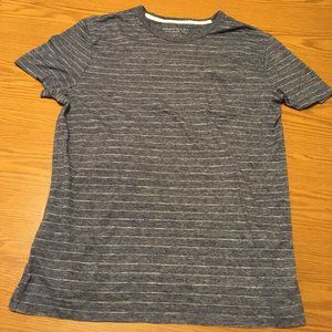 Banana Republic Pocket Tee Shirt Stripe Blue White
